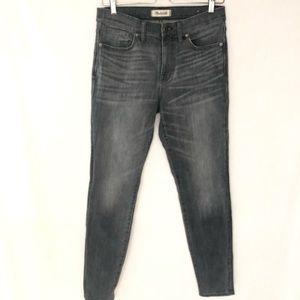 """Madewell 9"""" High Riser Skinny Skinny Jean 29"""